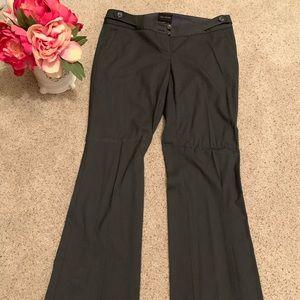 The Limited Size 6L Dark Gray Drew Fit Dress Pants